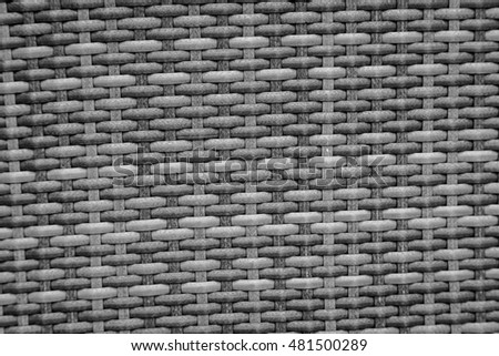 Old rattan texture background