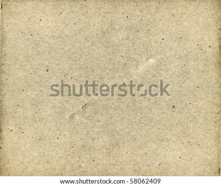 Old Real Cardboard Paper - stock photo
