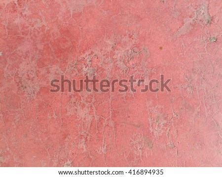 Old red concrete wall texture background