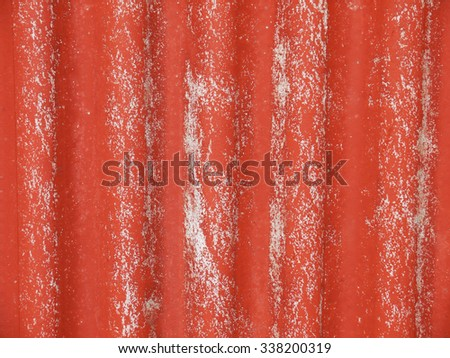 old red tile roof texture