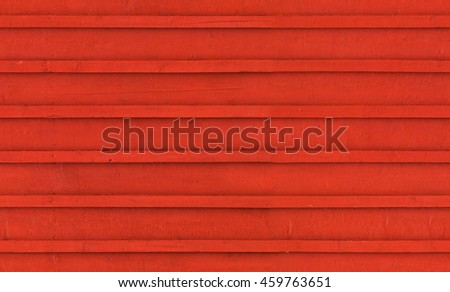 Old red wooden wall. Seamless background photo texture - stock photo