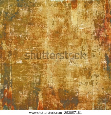 Old retro vintage texture. With different color patterns: yellow (beige); brown; gray - stock photo