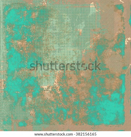 Old retro vintage texture. With different color patterns: yellow (beige); brown; green; blue; gray - stock photo