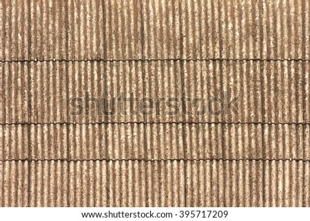 old roof tile texture. - stock photo