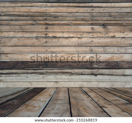 old room, wooden wall, vintage background