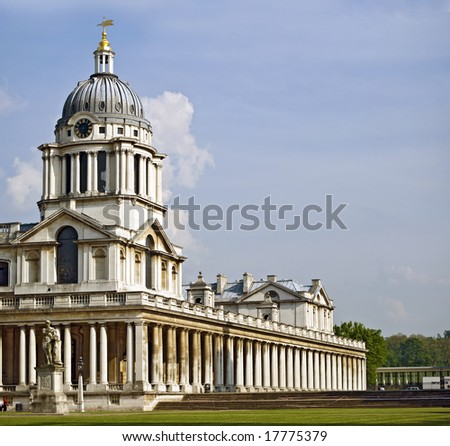 Old Royal Naval College (Greenwich Foundation), London - stock photo