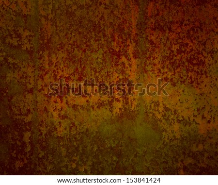 Old Rust Background Gold Red And Brown Country Western Color Tones Corroded Metal