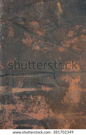 Old rust background. Grunge texture background.  - stock photo