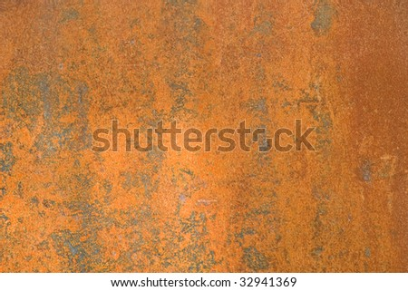 Old rusted metal. grunge texture background - stock photo