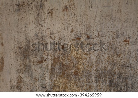 Old rusted metal riveted texture - stock photo