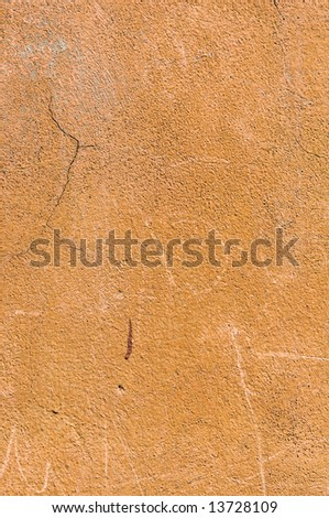 Old Rustic Stucco Wall  - Background Texture - stock photo