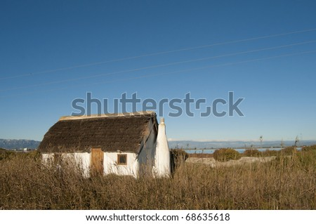 Old Rustic Traditional House in Ebro Delta