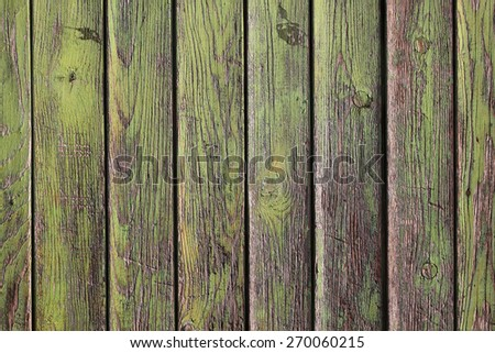 Old rustic wood plank background texture - stock photo