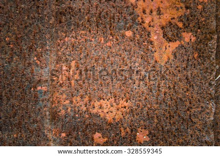 Old rusty abstract background - stock photo