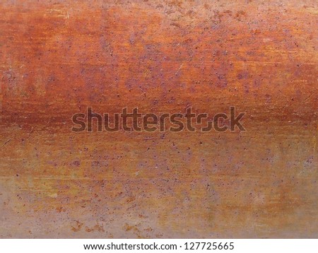 Old rusty iron background - stock photo
