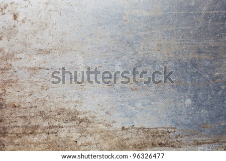 Old rusty metal background. - stock photo