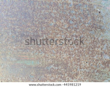 Old rusty metal plate texture background  - stock photo