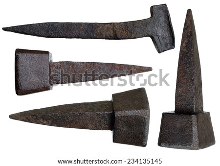 old rusty nails