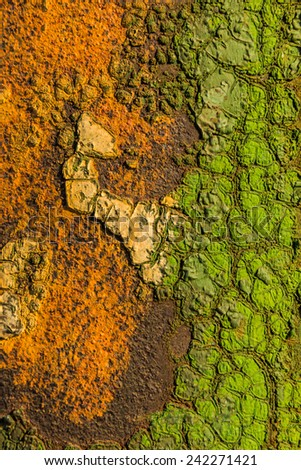 Old rusty surface can be used for background and texture, and use for text input.