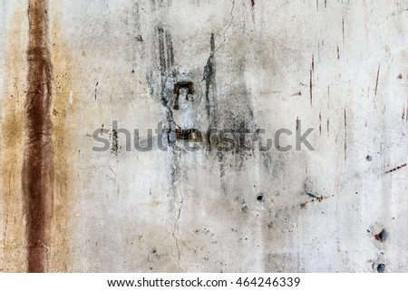 Old Rusty Wall Abstract Background