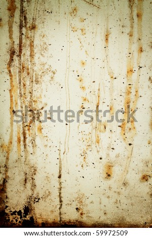 old rusty white metallic background,dirty surface - stock photo