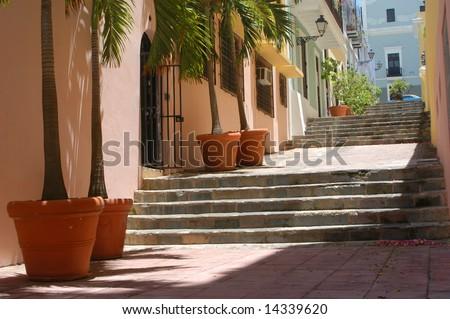 Old San Juan, Puerto Rico - stock photo