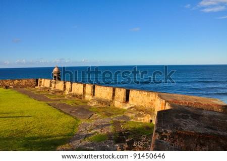 Old San Juan Puerto Rico. - stock photo