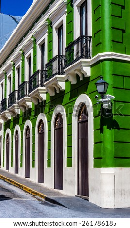 Old San Juan, Puerto Rico, United States. - stock photo