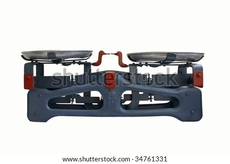 Old Scales - stock photo