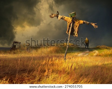 Scarecrow Stock Photos Royalty Free Images Amp Vectors