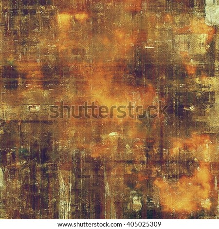 Old school aged texture or background for retro grunge design. With different color patterns: yellow (beige); brown; purple (violet); red (orange); gray - stock photo