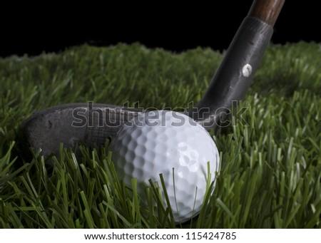 old school Golf Club - stock photo