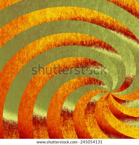 Old school textured background. With different color patterns: gray; yellow (beige); red (orange); green - stock photo