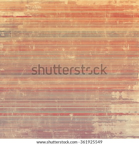 Old school textured background. With different color patterns: yellow (beige); brown; gray; red (orange) - stock photo