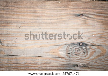 Old shabby brown wooden texture. Abstract background - stock photo