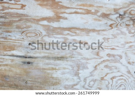 old sheet of plywood - stock photo