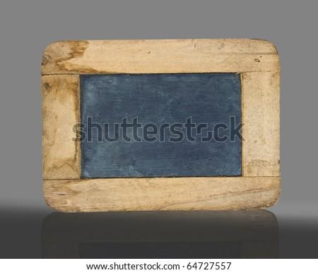old small blackboard - stock photo