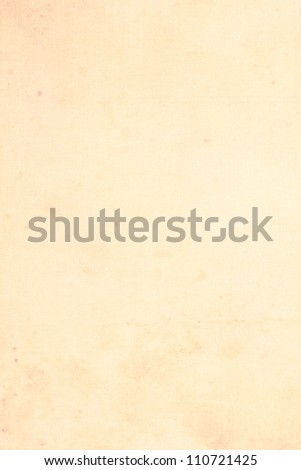 Old, stained, grungy paper background - stock photo