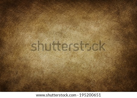 Old stained scratched paper texture - stock photo
