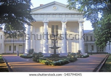 Old State House in Little Rock, Arkansas - stock photo