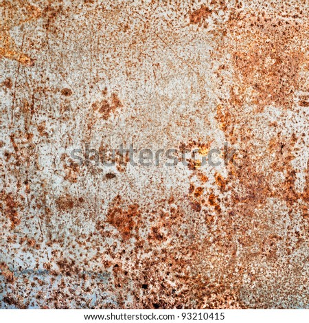 Old steel - stock photo