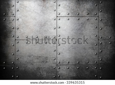 old steel metallic background  - stock photo