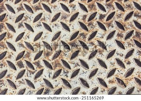 old steel texture - stock photo