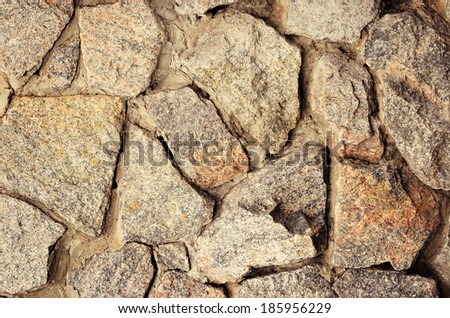 Old stone wall for background