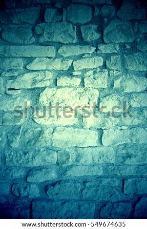 Old stone wall, stone wall detail in the city, old textured background