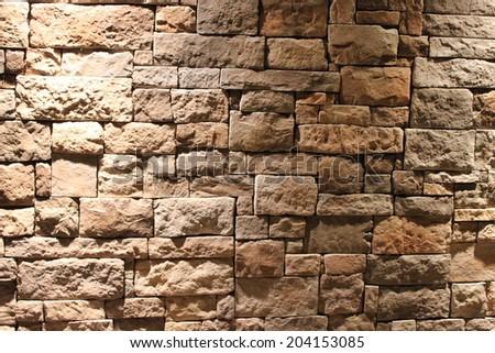 Old stones texture - stock photo
