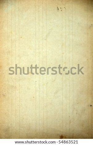 old striped paper grunge background - stock photo