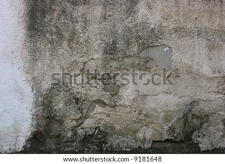 Old stucco wall texture - stock photo