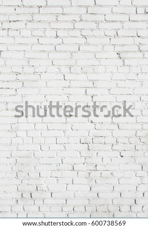 Old Stucco White Brick Wall Abstract Whitewash Brickwall Background Texture Vintage Vertical Wallpaper Web