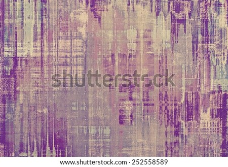 Old-style background, aging texture. With different color patterns: yellow (beige); gray; purple (violet); pink - stock photo